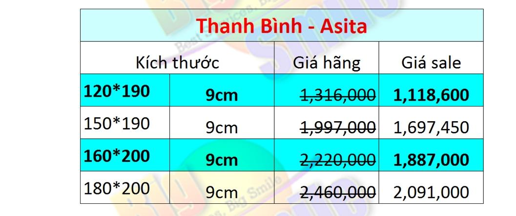 Đệm bông ép Thanh Bình - ASHITA giá rẻ